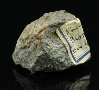 Allemontite et Valentinite de la mine des Chalanches, Allemont (Oisans)