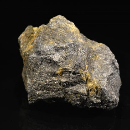 Galène et pyrite, mine de La Bessette, Puy-de-Dôme.