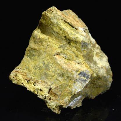 Scorodite, mine de Pontvieux, Tauves, Puy-de-Dôme.