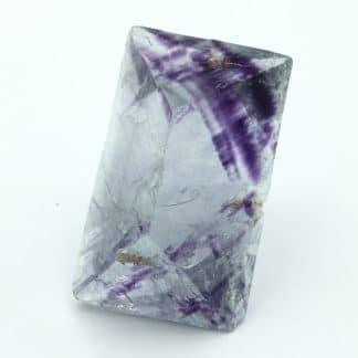 Lot de 4 cristaux de fluorine de Boltry, Seilles, Belgique.