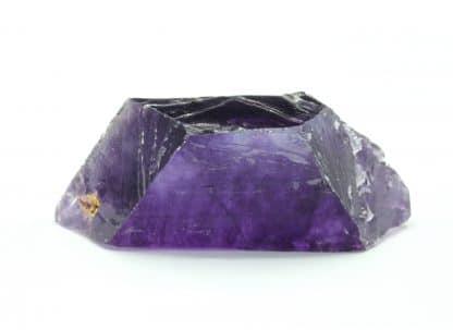 Fluorine violette, carrière Boltry, Seilles, Belgique.