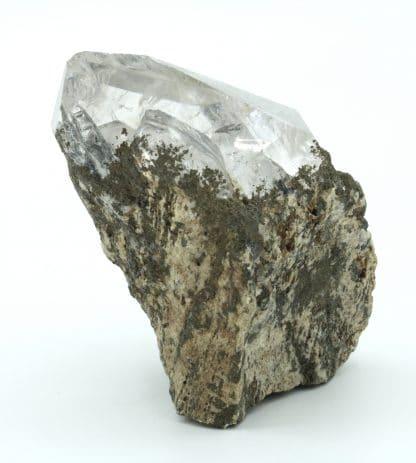 Cristal de Quartz à inclusions, Suisse.