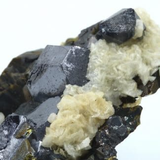 Scheelite, galène et chalcopyrite, Dalnegorsk, Russie.