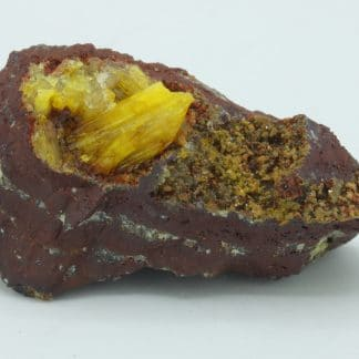 Legrandite, mine d'Ojuela, Mexique.