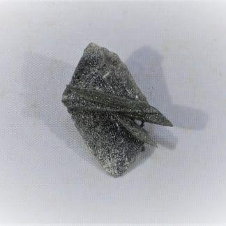 Axinite, Combe de la Selle, Saint Christophe en Oisans, Isère.