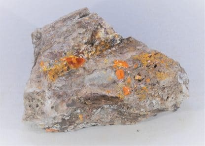 Wulfénite, Mine de Red Cloud, Arizona, USA.