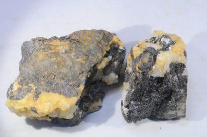 Blende (Sphalérite), Mines de Pranal, Pontgibaud, Puy-de-Dôme, Auvergne.