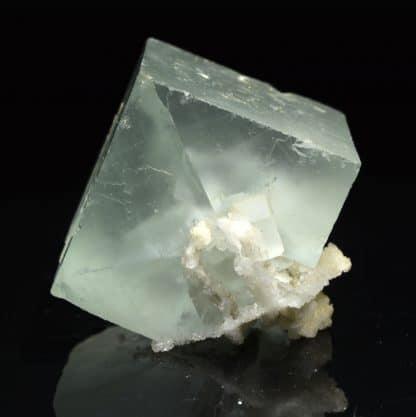 Fluorine et quartz, Montroc (Mont-Roc), Tarn.