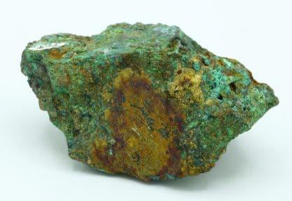Chalcopyrite partiellement oxydée, mine de Matra en Corse.