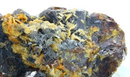 Sphalérite, sidérite, Les Rioux, mine de La Mure, Isère.