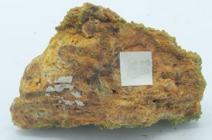 Pyromorphite, Mine de Chaillac, Indre, Centre.