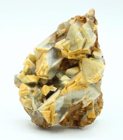 Baryte, mine de Maine Reclesne, près d'Autun, Saône et Loire.