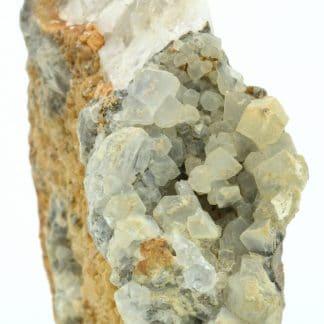 Ankérite et quartz, filon Saint-Jacques, Sainte-Marie-Aux-Mines.