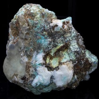Smithsonite, mine de Mas Lacombe, Saint-Laurent-le-Minier, Gard.