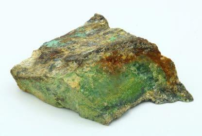 Arséniosidérite à cuivre, Sainte-Marie-aux-Mines, Haut-Rhin, Alsace.