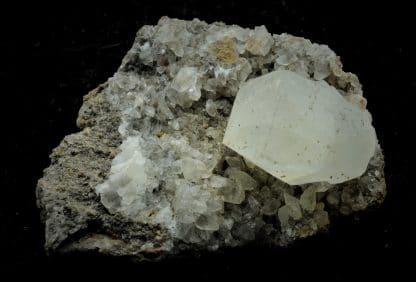 Calcite, Mines de Largentière, Ardèche.