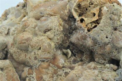 Sphalérite (blende) et pseudomorphose de Smithsonite, Vaulnaveys, Isère.