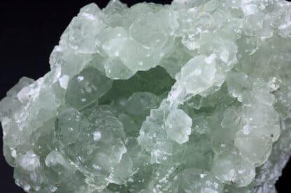 Fluorine verte en dodécaèdres, Mine de Fontsante, Var, Provence.