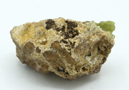 Smithsonite, Mine de Chessy, Chessy-les-Mines, Rhône.