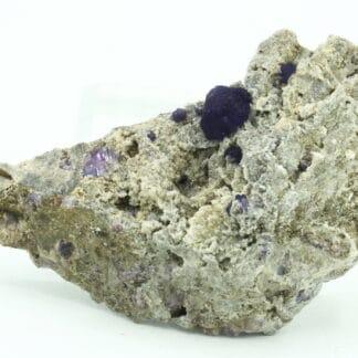 Fluorite violette, Bois-le-Duc, Foisches, Pointe de Givet, Ardennes.