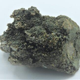 Calcite sur Chalcopyrite, Laguépie, Tarn-et-Garonne.