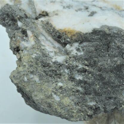 Ferberite (wolframite), mine de Salsigne, Aude.