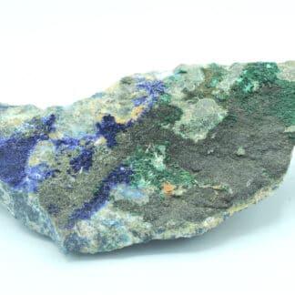 Baryte, azurite et olivénite de la mine de la Garonne (Var)