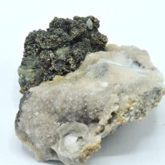 Calcite et Chalcopyrite, Laguépie, Tarn-et-Garonne.