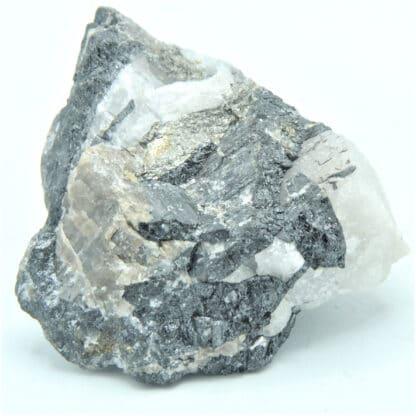Huebnerite, Scheelite et Powellite, Mine Carrock, Royaume-Uni.