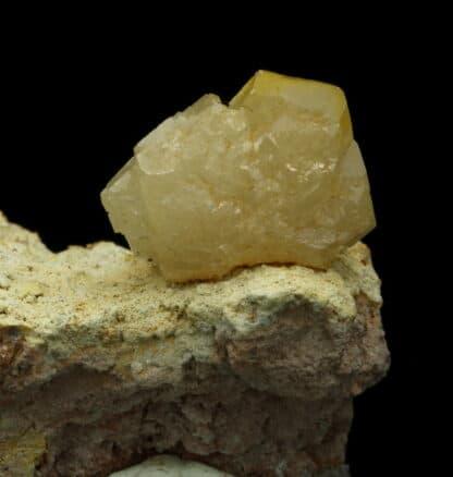 Cérusite maclée, Mine de Tsumeb, Tsumeb, région d'Oshikoto, Namibie.