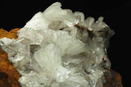 Hémimorphite, Mine d'Ojuela, Mapimí, Durango, Mexique.
