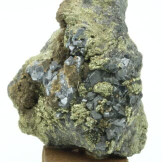 Galène, pyrite, sphalérite, région du Chihuahua, Mexique.