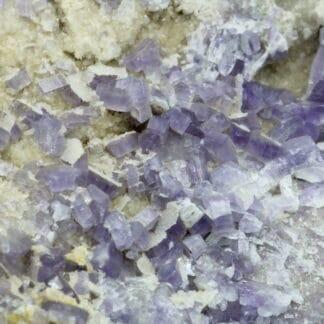 Apatite violette, Tréguennec, Quimper, Finistère, Bretagne.