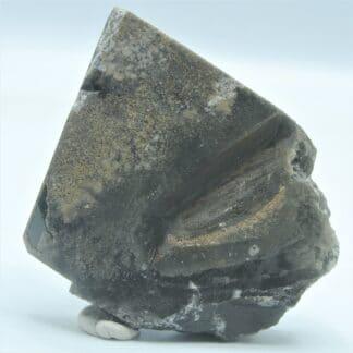Cristal de Baryte Noire, Carrière de Lompret, Belgique.