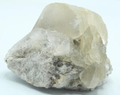 Calcite, Carrière de Lompret, Chimay, Belgique.
