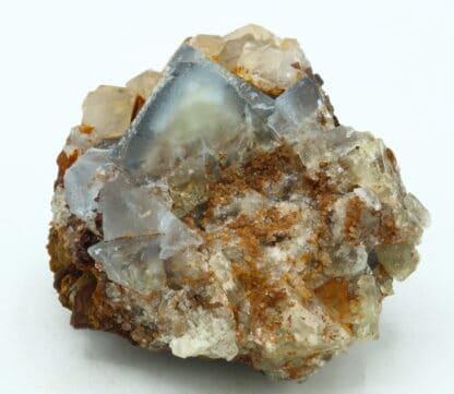 Fluorine bleue, carrière du Rivet à Peyrebrune dans le Tarn.