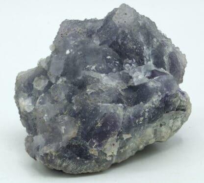 Fluorite violette, polysynthétique, mine de Fontsante, Var.