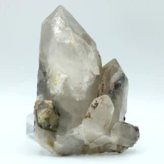 Scheelite sur quartz, Tae Wha Mine, Chungju, Corée du Sud.
