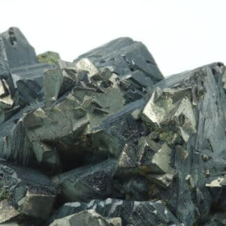 Arsénopyrite et chalcopyrite sur sphalérite, Dalnegorsk, Russie.