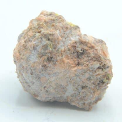 Géode ce cristaux de Mimétite et Baryte, Lantigné, Beaujeu, Rhône.
