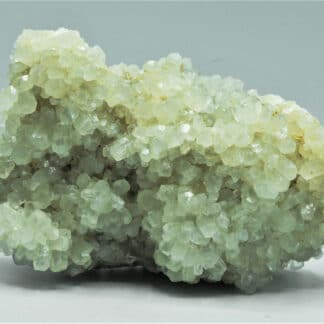 Calcite sur Fluorite sur Sidérite, et Galène, Le Rivet, Peyrebrune, Tarn.
