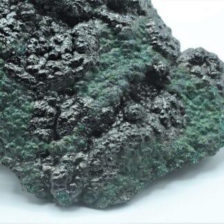 Heterogenite et Chrysocolle, Mine de l'Etoile du Congo, Haut-Katanga, Congo.
