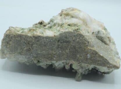 Quartz chloriteux, Massif des Grandes Rousses, Oisans, Isère.