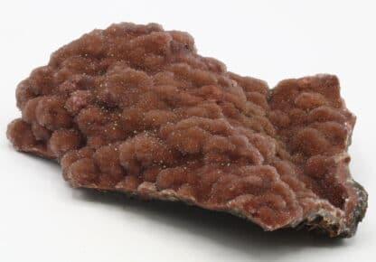 Quartz rouge et torbernite, Entraygues sur Truyère, Aveyron.