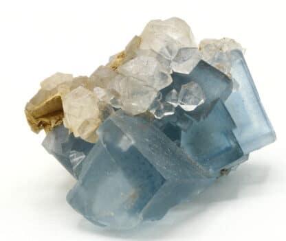 Fluorite bleue de la mine d'Embournegade (Tarn)