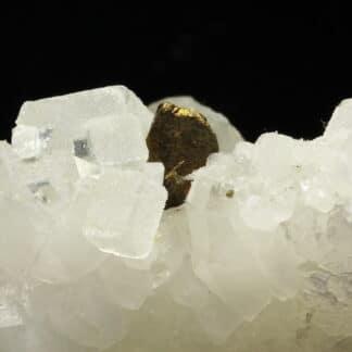 Fluorine et Chalcopyrite de Montroc (Mont-Roc), Tarn.