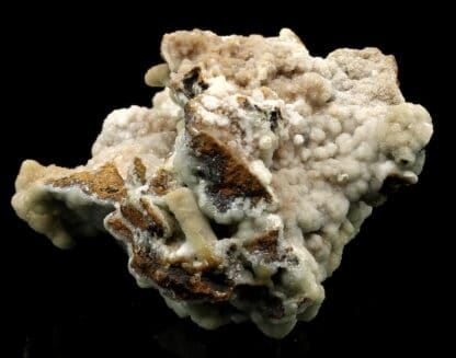 Smithsonite bleue, District minier de Santa Eulalia, Chihuahua, Mexique.