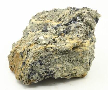 Pyrite associée à la Galène en provenance du Pérou.