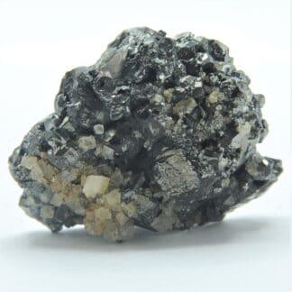 Tétraédrite et Dolomite, Mine de Saint-Pierre-de-Mésage, Isère.