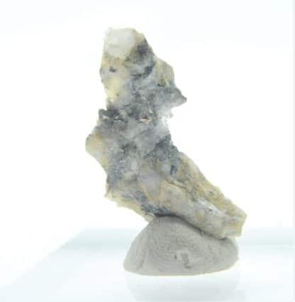 Bismuth natif, Froidviala Est, Estables, Monts-de-Randon, Lozère.